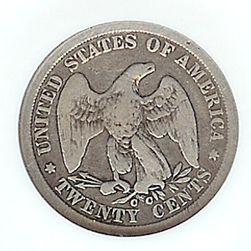 1878 20 cent piece value